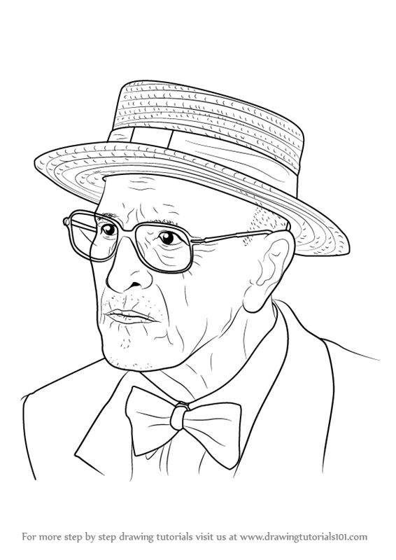 Learn How To Draw An Old Man Other People Step By Step Drawing