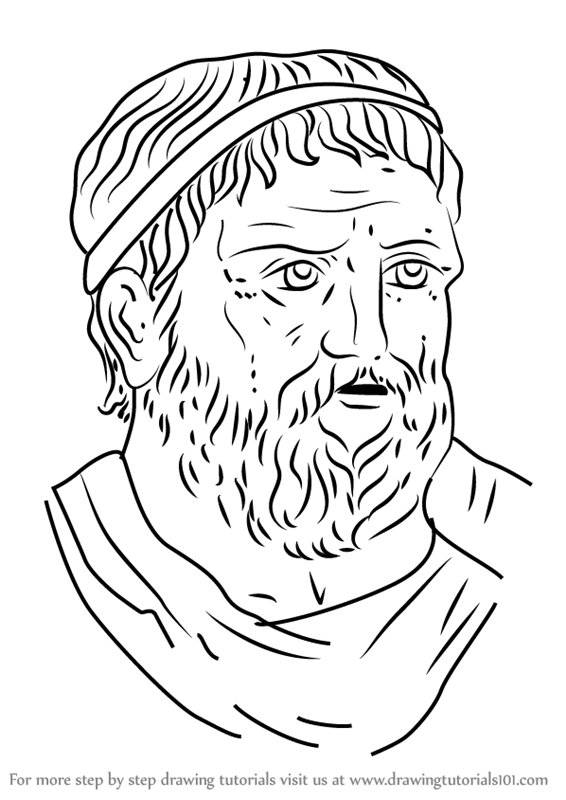 step by step how to draw sophocles drawingtutorials101com