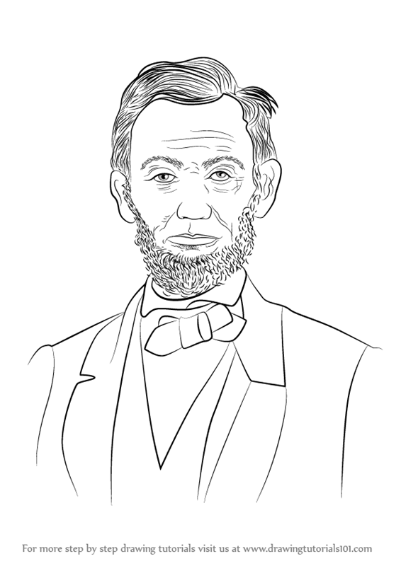 Learn How to Draw Abraham Lincoln
