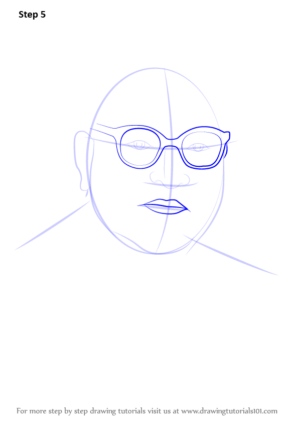 Step by Step How to Draw Babasaheb Ambedkar ...