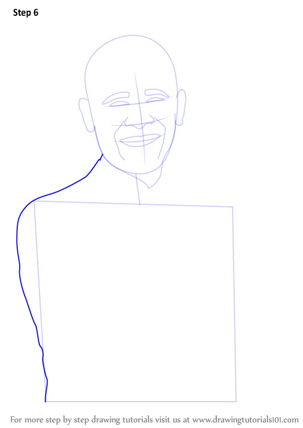 learn how to draw barack obama  politicians  step by step   drawing tutorials