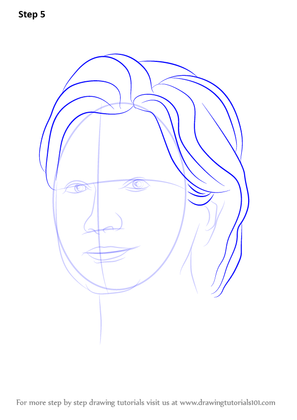 Well-liked Learn How to Draw Hillary Clinton (Politicians) Step by Step  SM53