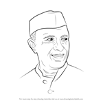 How to Draw Jawaharlal Nehru