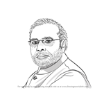 How to Draw Narendra Modi