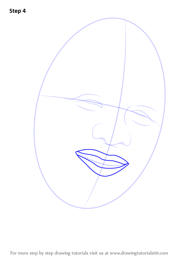 learn how to draw nelson mandela face  politicians  step by step   drawing tutorials