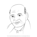 How to Draw Sardar Vallabhai Patel