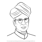 How to Draw Sarvepalli Radhakrishnan