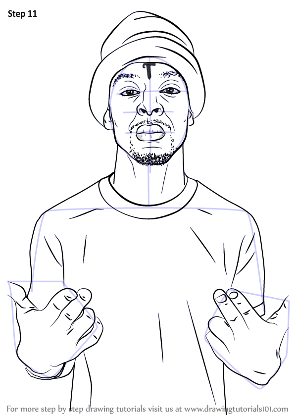 learn how to draw 21 savage rappers step by step