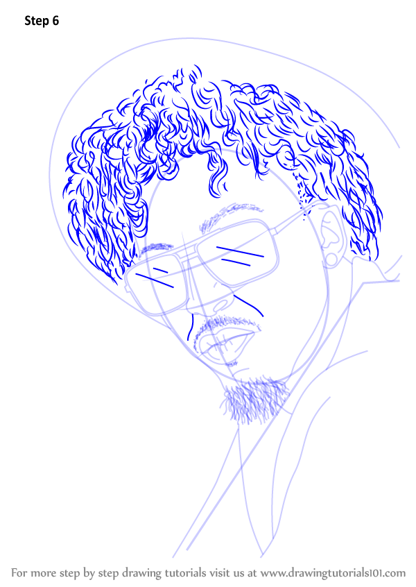 Learn How To Draw August Alsina Rappers Step By Step