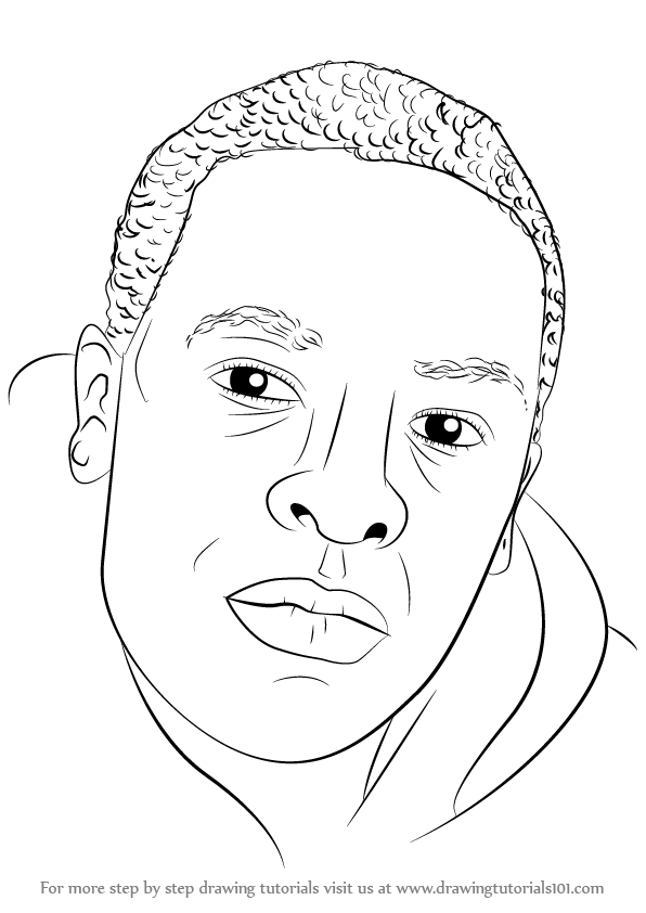 Learn How To Draw Dr Dre Rappers Step By Step Drawing