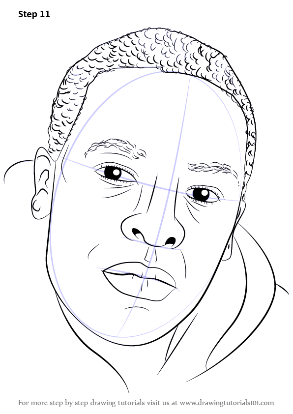 Step by Step How to Draw Dr Dre