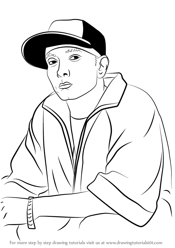 eminem coloring pages - photo#8