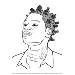 How to Draw Kodak Black