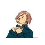 How to Draw Lil Pump