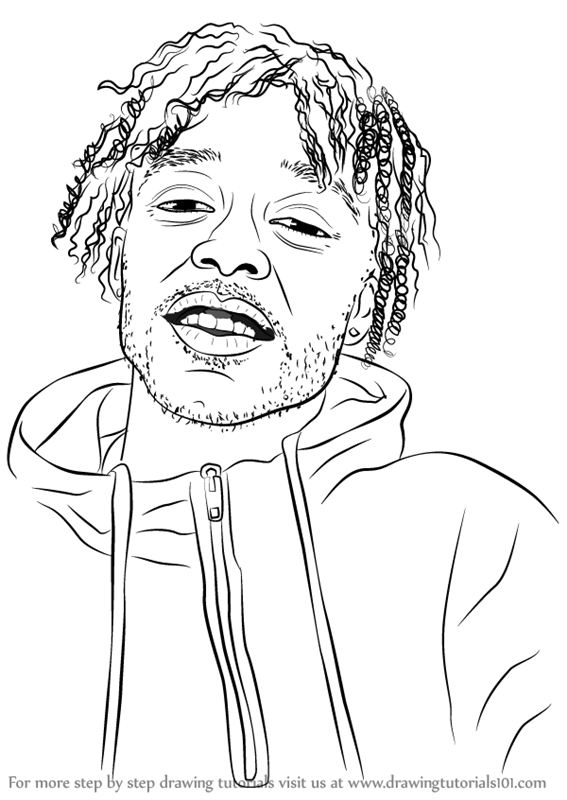 learn how to draw lil uzi vert rappers step by step