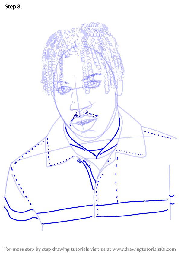 how to draw rappers step by step