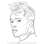 How to Draw MGK aka Machine Gun Kelly