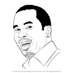 How to Draw Sean Combs aka Puff Daddy