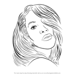 How to Draw Aaliyah