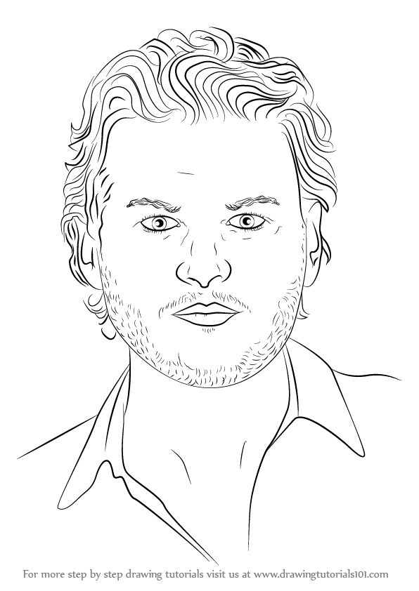 learn how to draw blake shelton  singers  step by step