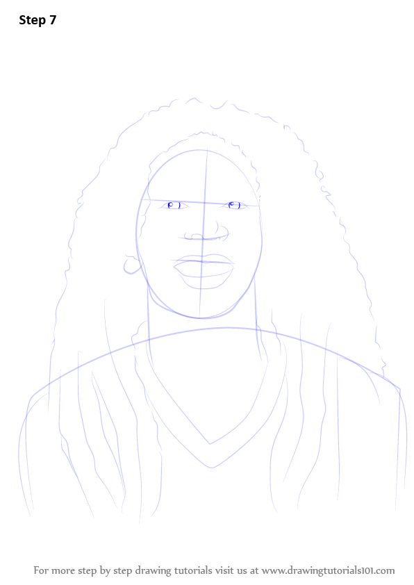 Learn How To Draw Bob Marley Singers Step By Step