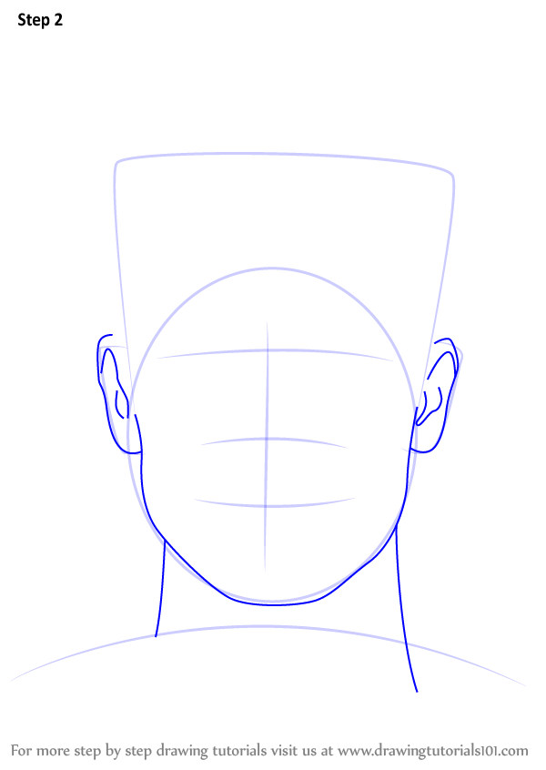 Learn How to Draw Brendon Urie (Singers) Step by Step ...