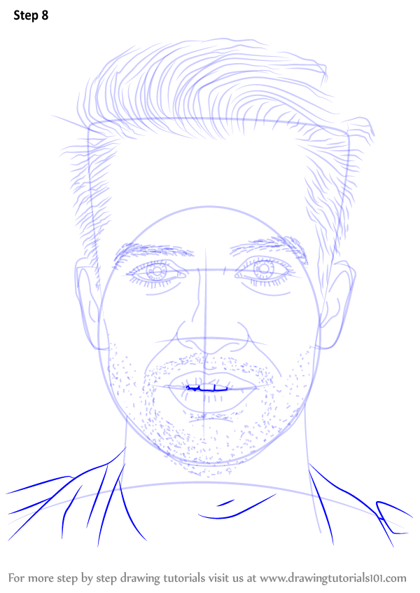 learn how to draw brendon urie  singers  step by step   drawing tutorials
