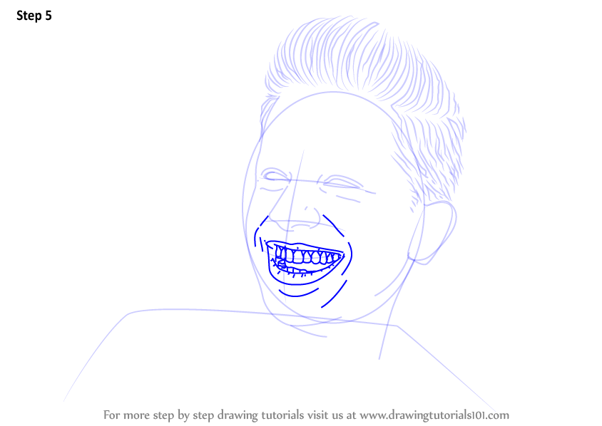 learn how to draw charlie puth  singers  step by step