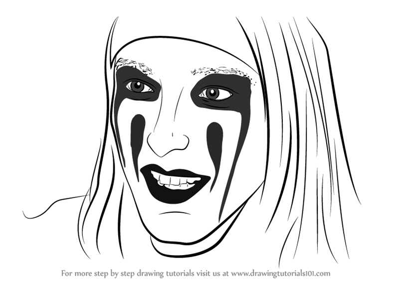 learn how to draw christian coma singers step by step