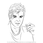 How to Draw David Bowie