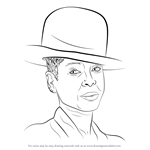 How to Draw Erykah Badu