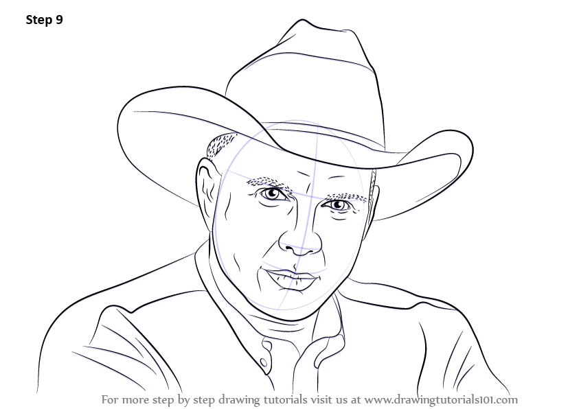 Learn How to Draw Garth Brooks