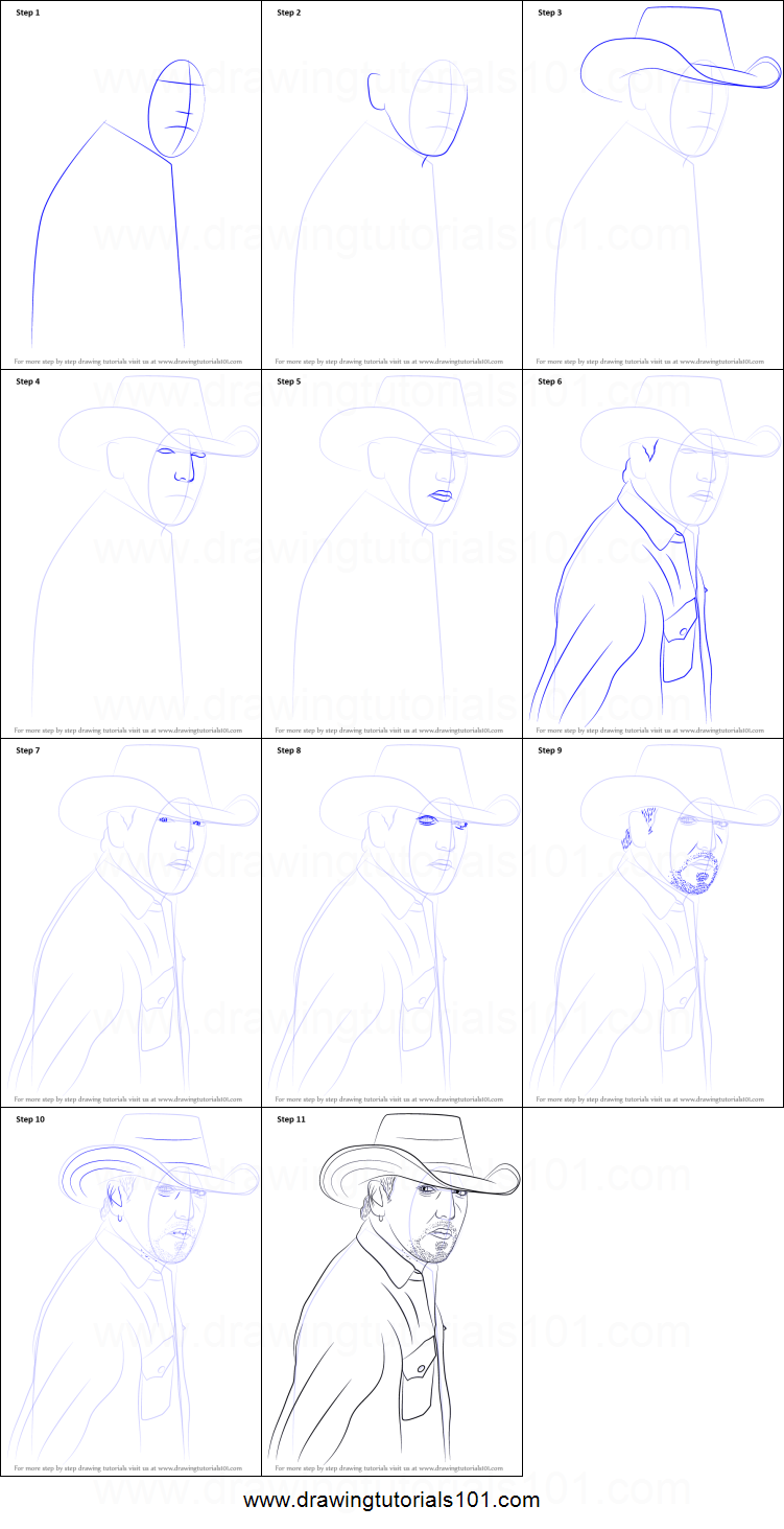 How To Draw Jason Aldean