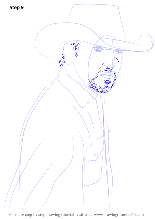 Learn How to Draw Jason Aldean (Singers) Step by Step ...
