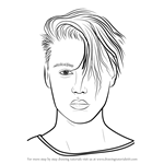 How to Draw Justin Bieber v2