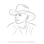 How to Draw Kenny Chesney