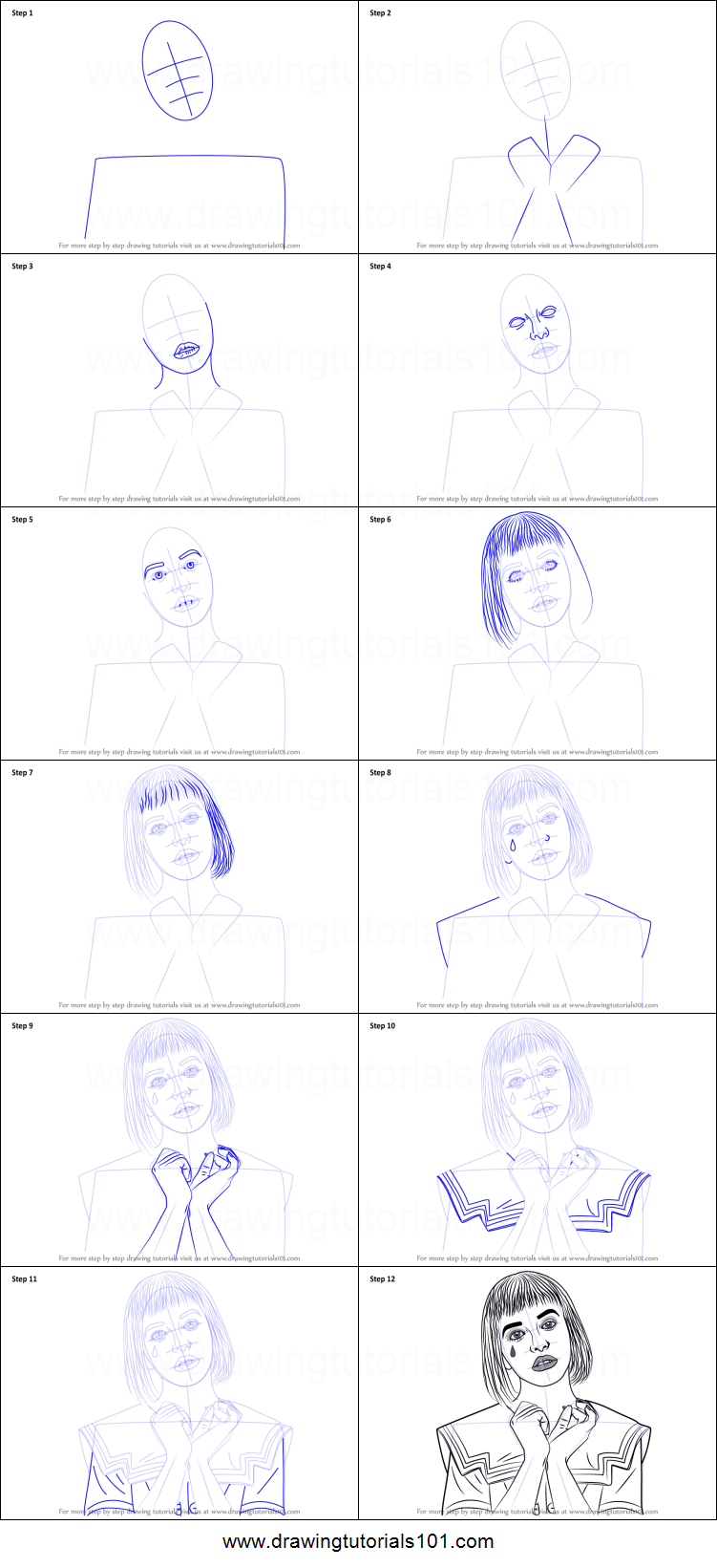 How To Draw Melanie Martinez