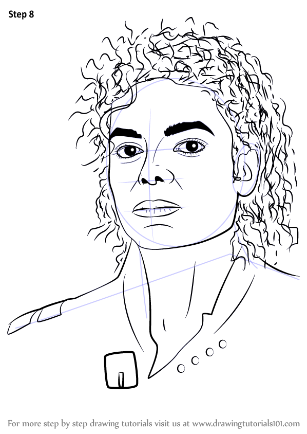 Easy Michael Jackson Drawings