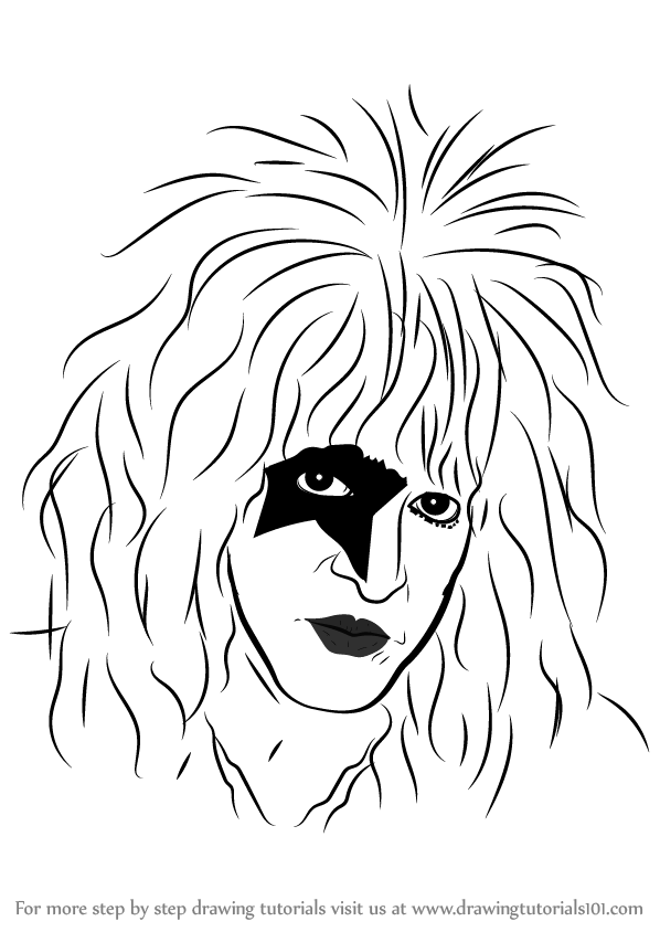Learn How to Draw Paul Stanley