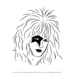 How to Draw Paul Stanley