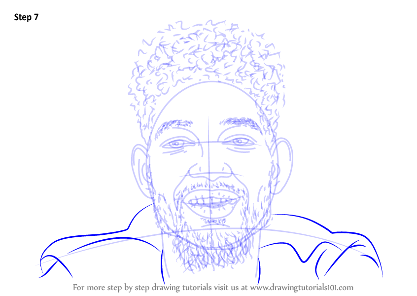 learn how to draw pnb rock  singers  step by step