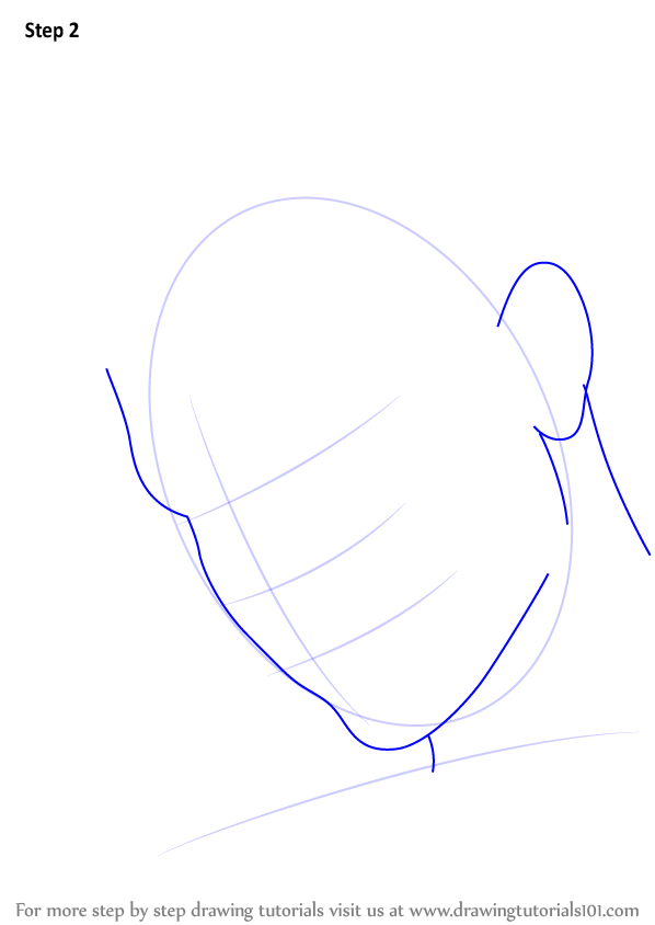 how to draw wrinkles on face step by step