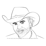 How to Draw Toby Keith