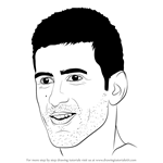 How to Draw Novak Djokovic