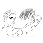 How to Draw Roger Federer