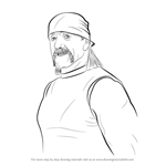 How to Draw Hulk Hogan