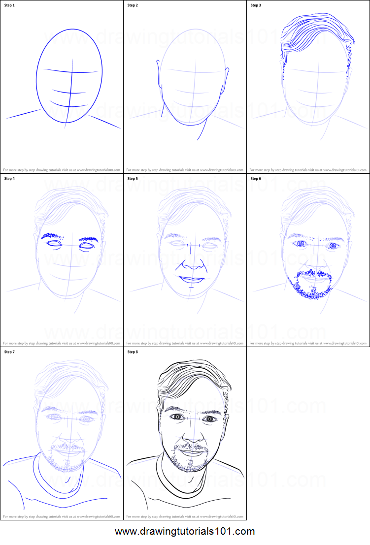 How To Draw Jacksepticeye