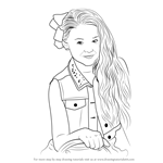 How to Draw Jojo Siwa