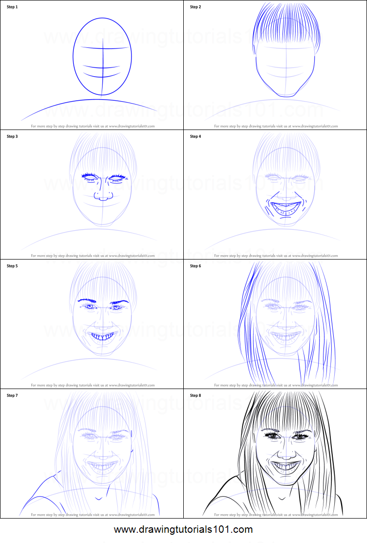 How To Draw Miranda Sings Printable Step By Step Drawing Sheet