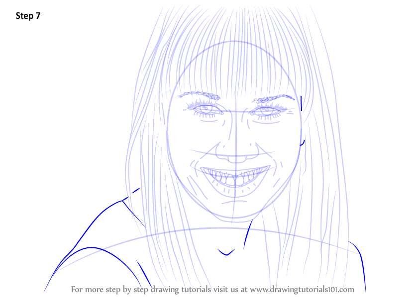 Learn How To Draw Miranda Sings Youtubers Step By Step